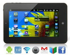 "VIA WM8650 7"" TFT Touchpad Android 2.2 Tablet PC with Wi-Fi and 4G Hard Drive (Black)"