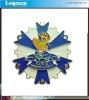 2012 Best Selling Custom Logo Metal Badge