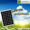 GRID SOLAR CELL PANEL 120W parking lot