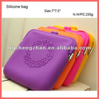 silicone shopping bag for ladies