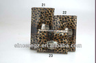 leopard pu stylish purse