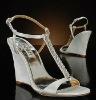 crystal wedding shoes WED326