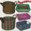 LOVELY CRAFT PAPER BASKET IN CHEAP PRICE