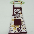 Printed Cotton Aprons Kitchen Wholesale with Pocket