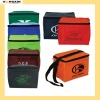 Multi color imprint available promotion cooler bag with open front pocket(YXCB-1110165)