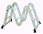 folding aluminum 3 step ladder