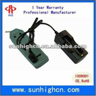 Lithium ion battery charger for 18650 cylinder battery