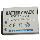 3.7V 1300mah Camera battery pack for Nikon EN-EL12