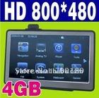 "7"" HD Car GPS Navigation O-701"