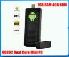 Mini pc Android 4.0 TV Box HDMI Cortex A9 1GB RAM UG802 rk3066 dual core smart tv box