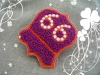 Cute custom woven embroidery label patch