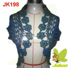 2012 New design Hotsale prints of flowers and beading casual short sleeve for spring and summer Ladies Sweater JK198