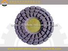 100mm Flexible polsihing pad abrasive stone for clazed tiles