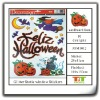 HOLIDAYS HALLOWEEN HOBBY ADHESIVES PUMPKIN STICKERS