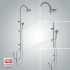 chrome plating brass round shower column set