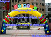 Inflatable entrance arch for events