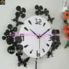 clear acrylic wall clock