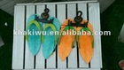 child sandals-leather girls shoes/sandals