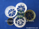 "Plastic Cascade Rings(Dia 1"",1.5"",2"",3"") For Distillation Tower"