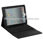 For ipad bluetooth keyboard leather case