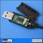 PL2303 + MAX3232, USB serial RS232 adatper cable
