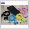 Hot Selling Stylish Colorful Neck Strap Silicone Lanyard for iPhone iPod Nano Touch