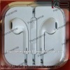 White with mic and remote earphone for iphone 5