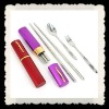 Camping, outdoor stainless steel chopsticks
