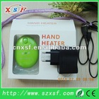 hand pads USB hand warmer hand heater hand pack with 1800mA lithium battery with CE & ROHS for Christmas gift