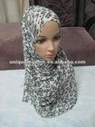 NL091 print muslim long scarf