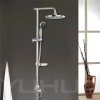 shower mixer made of brass and abs palstic material