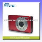 Mini Red Color Portable Shockproof Digital Camera DC100
