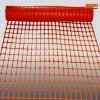 orange plastic road safety net(safety product)