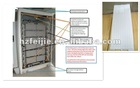 Indoor telecom cabinet with PCM panel cooling system