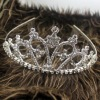 Rhinestone bridal wedding hair tiara