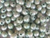 9-10mm light green freshwater pearl beads loose beads with 2mm hole