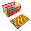 food grade foldable plastic shopping basket