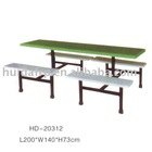 good quality fiberglass canteen table and bench