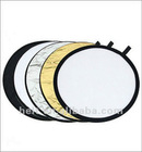 Hot sale 60cm 5 in 1 circular Folding reflector board,photography equipment reflector board