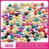 colorful plastic half pearl