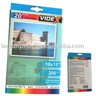 130gsm Adhesive High Glossy Inkjet Paper