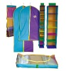 colorful non-woven/PE folding suit covers