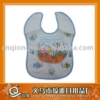 baby bib with embroidery