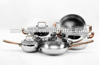 8 piece stainless steel cookware set (XM-2039)