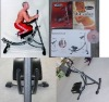 AB Coaster Exerciser with DVD Workouts,Manual and Meal Book