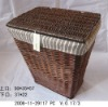 2012 Hot sale Eco-friendly home using wicker washing baskets