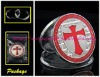 One Troy Oz Pure Silver Clad Knights Templar Coin