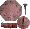 "21""8k manual open super light lady 5 fold umbrella"