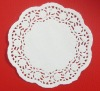 round white paper doilies
