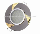 best quanlity Zinc alloy ceiling lamp cover